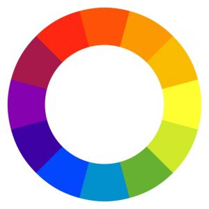 Colour Wheel for colour psychology